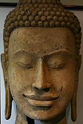 010 Buddha's masque - Wood -  H:90cm, W:50cm - USD2200 -