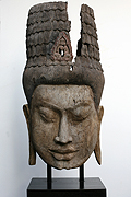 019. Buddha's masque - Post Angkoria Style - Height:90cm, W:46cm - USD 1700 -