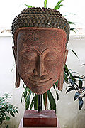 020.Buddha's masque - Post Angkorian Style - Height:1,6m, W:52cm, W: Kg - USD 15000 -